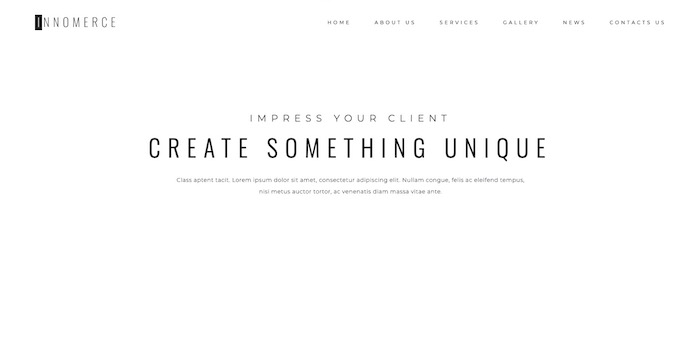 tendance webdesign épuré