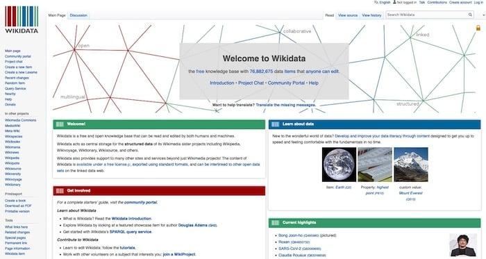 Answer Engine Optimization WikiData