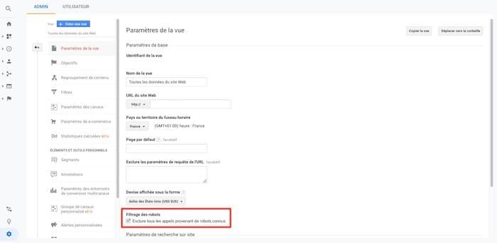 exclusion robots referral spam Google Analytics