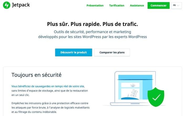 Jetpack CDN gratuit plugin WordPress