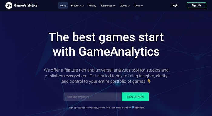 GameAnalytics outil analyse statistiques applications jeux mobiles