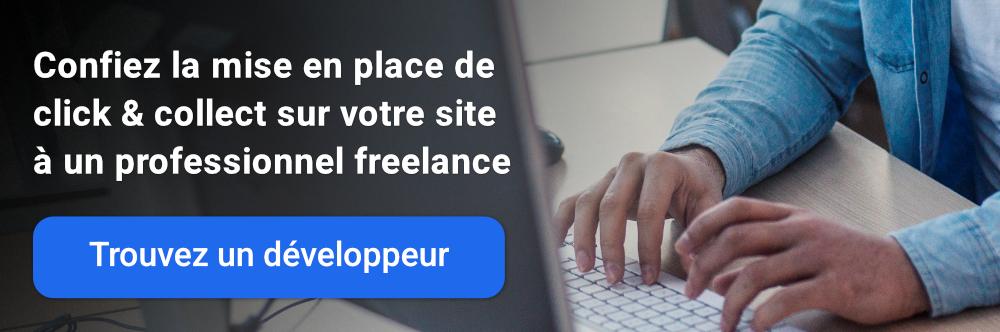 Confiez la mise en place de Click & collect sur votre site à un développeur freelance