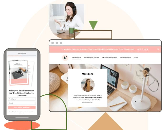 outil création Landing Page LeadPage