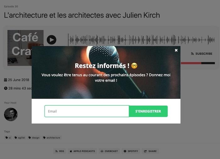 générer des leads grâce au podcast