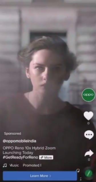 Tiktok Ads top view
