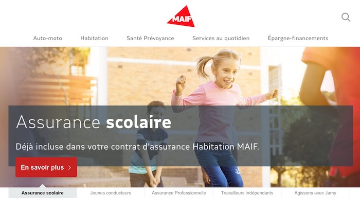 MAIF assurance scolaire