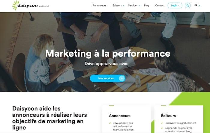 Daisy.com plateforme d'affiliation marketing