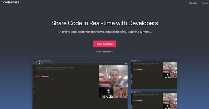 outil de partage de code CodeShare