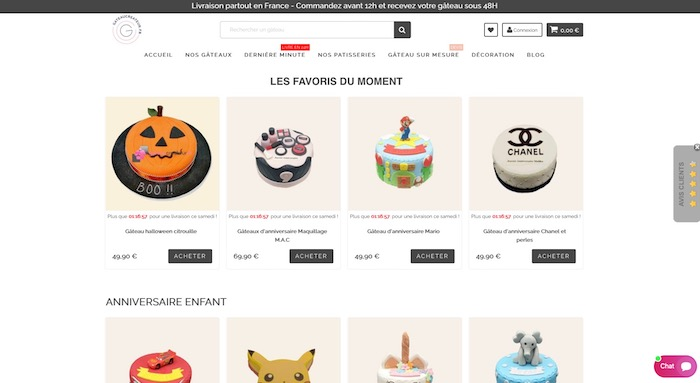 e-commerce alimentaire