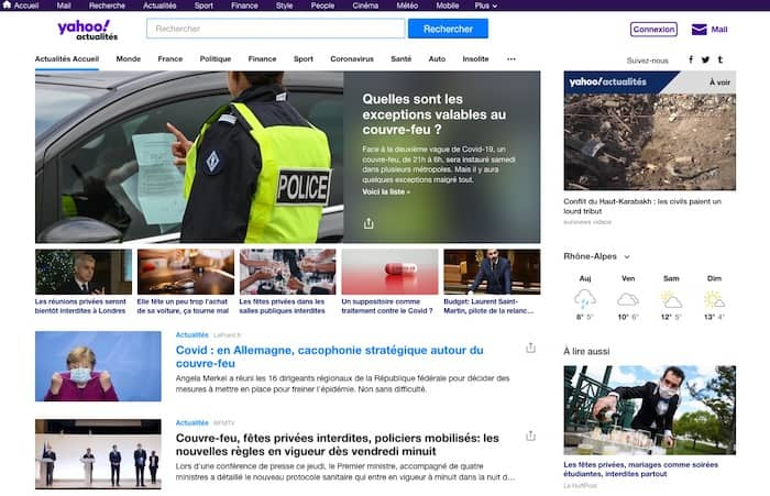référencement SEO Yahoo