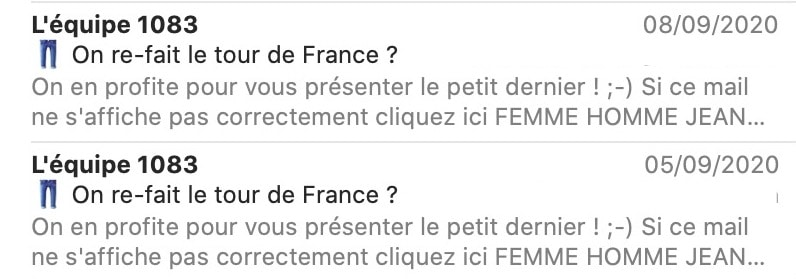 relance non-ouvreurs email