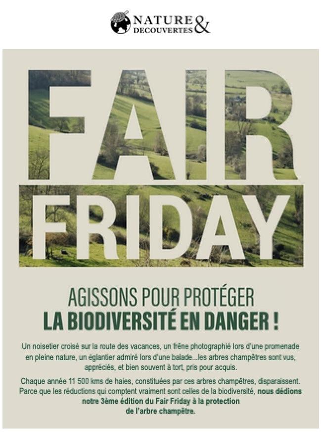 Fair Friday Nature & Découvertes