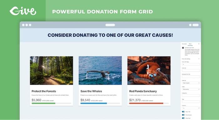 GiveWP plugin wordpress pour collecte de dons
