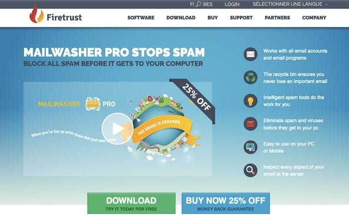 Mailwasher logiciel anti-spam