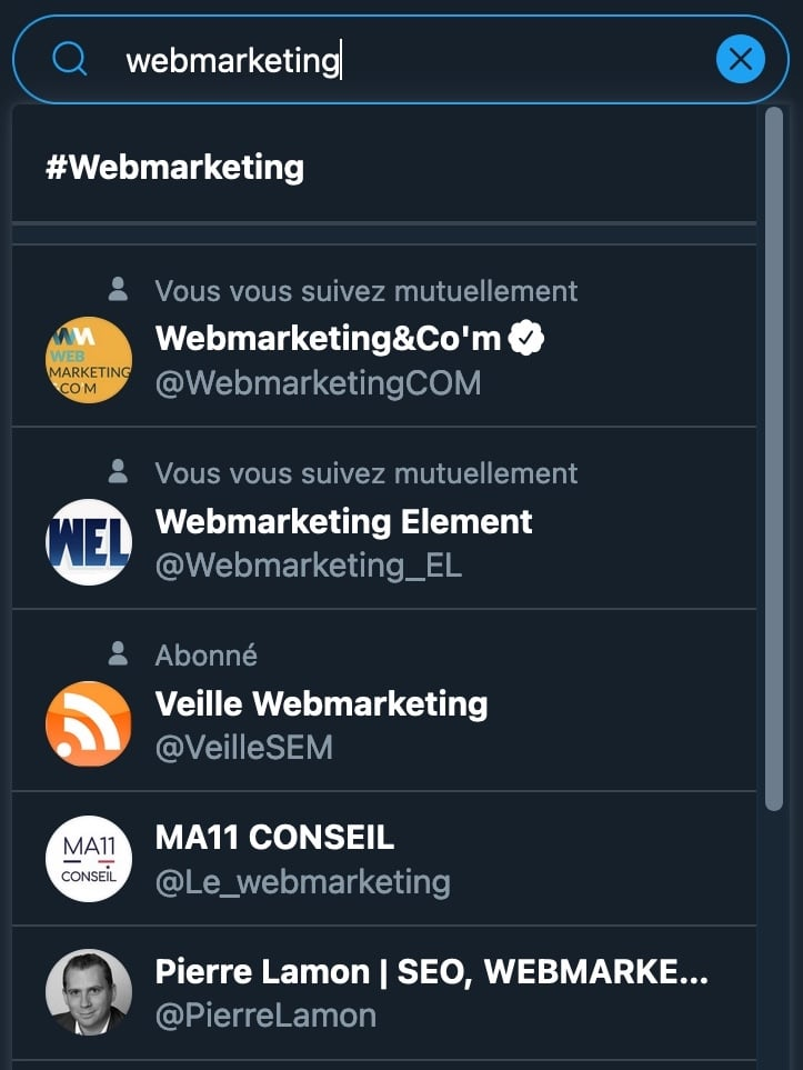 curation de contenu Twitter