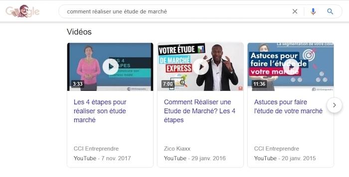 vidéo SEO