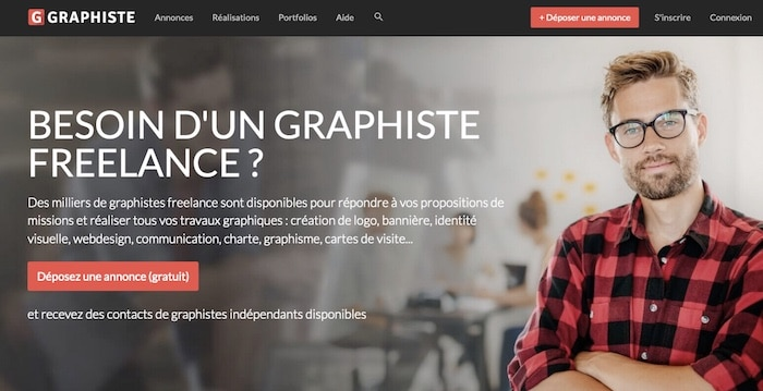 Graphiste.com, la plateforme pour trouver votre graphiste freelance