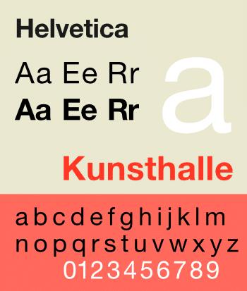 Helvetica police web safe