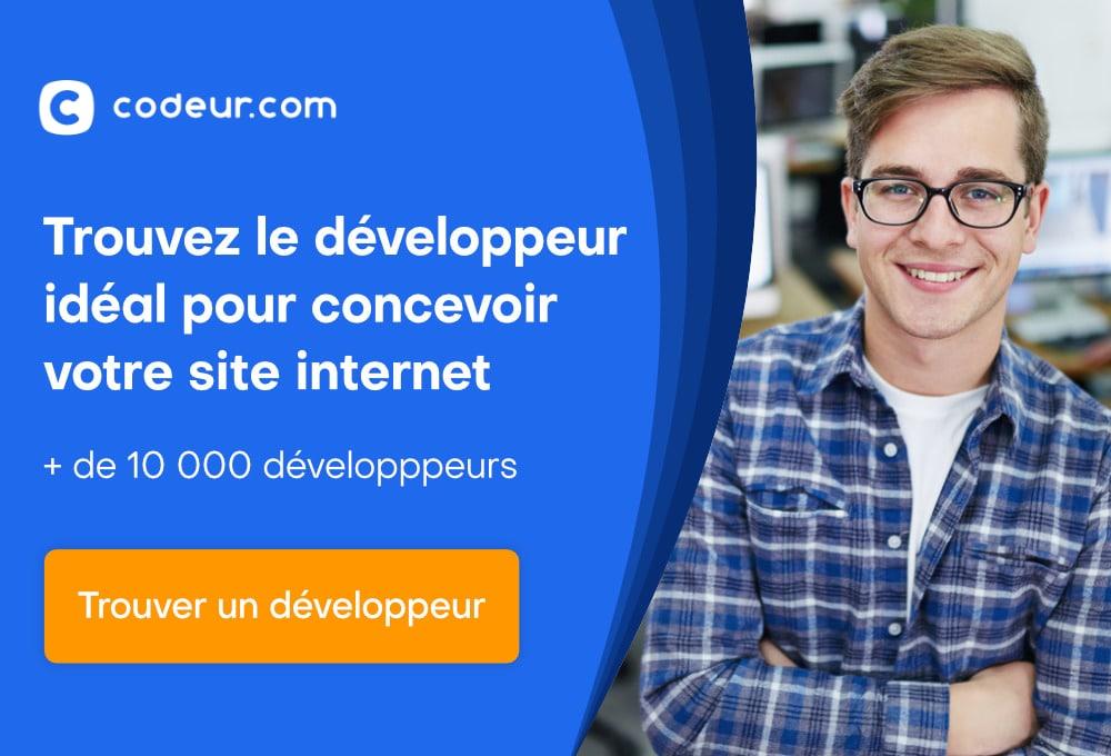 trouvez le développeur idéal pour concevoir votre site internet sur Codeur.com