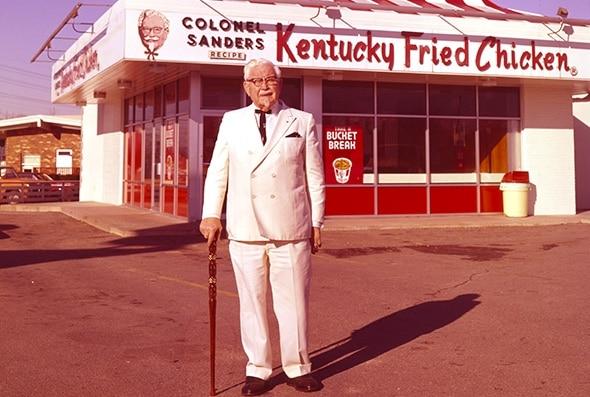 rétro-marketing KFC