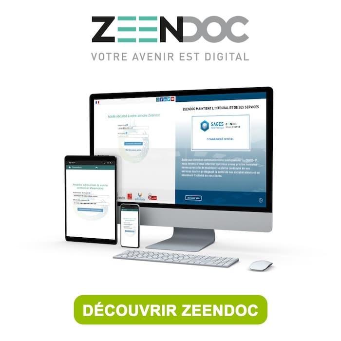 Zeendoc, logiciel de gestion électronique des documents GED
