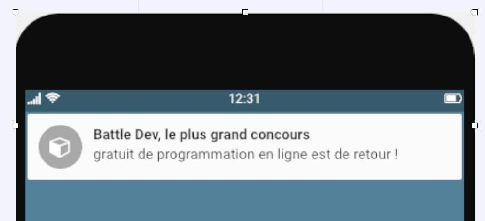 notification web push
