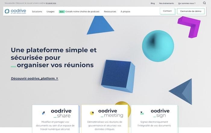 Oodrive logiciel GED