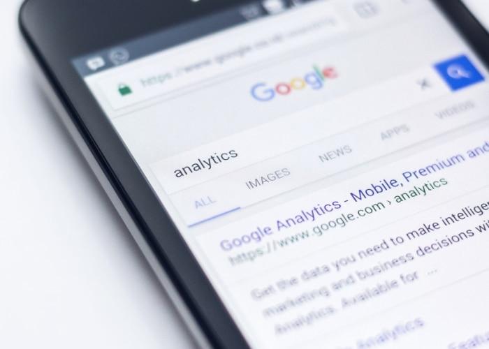 recherche interne google analytics