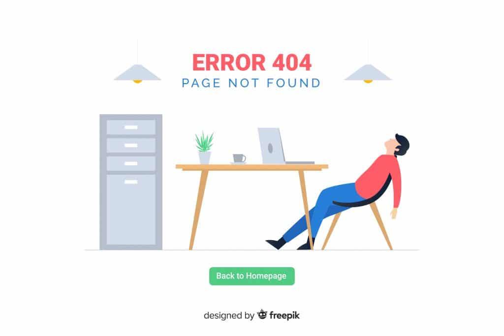 Mauvais linking erreur 404 SEO WordPres