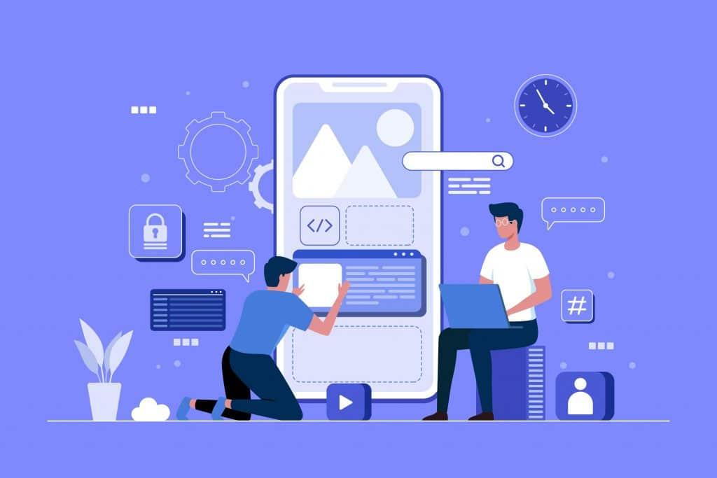 Construire l'application - mobile application IOS