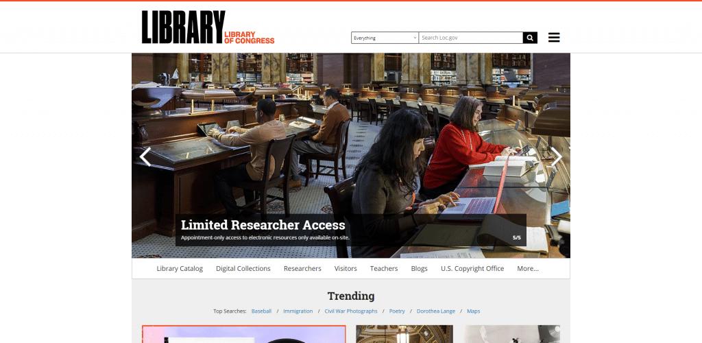 Bibliothèque du Congrès Américain