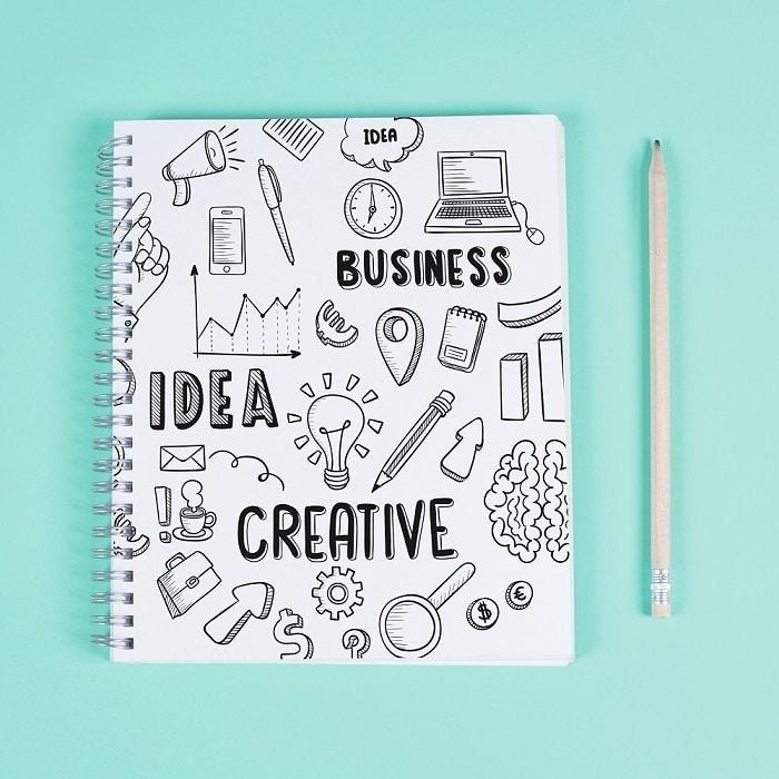 Tenir un journal de créativité