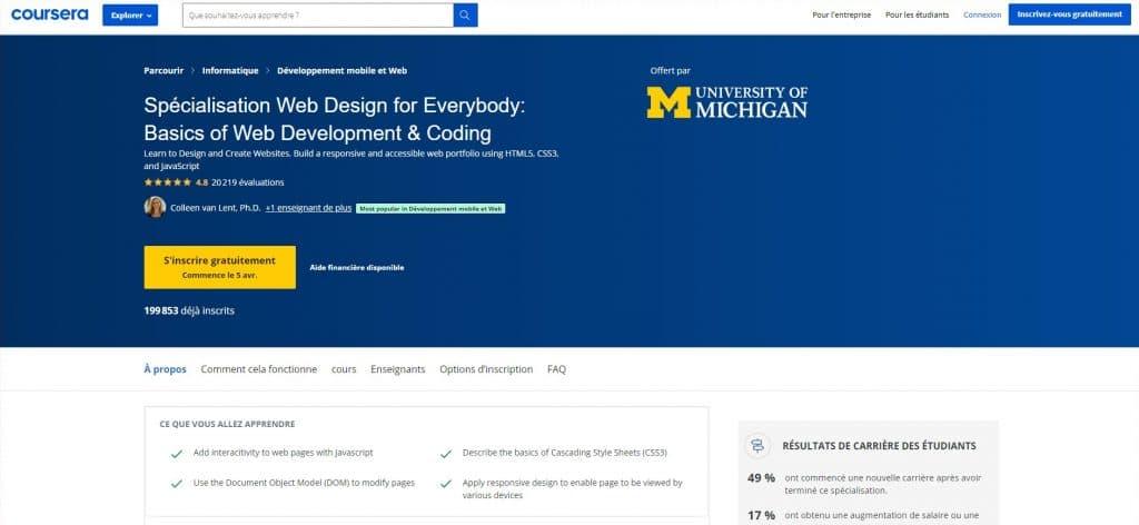 Web Design for Everybody de Coursera