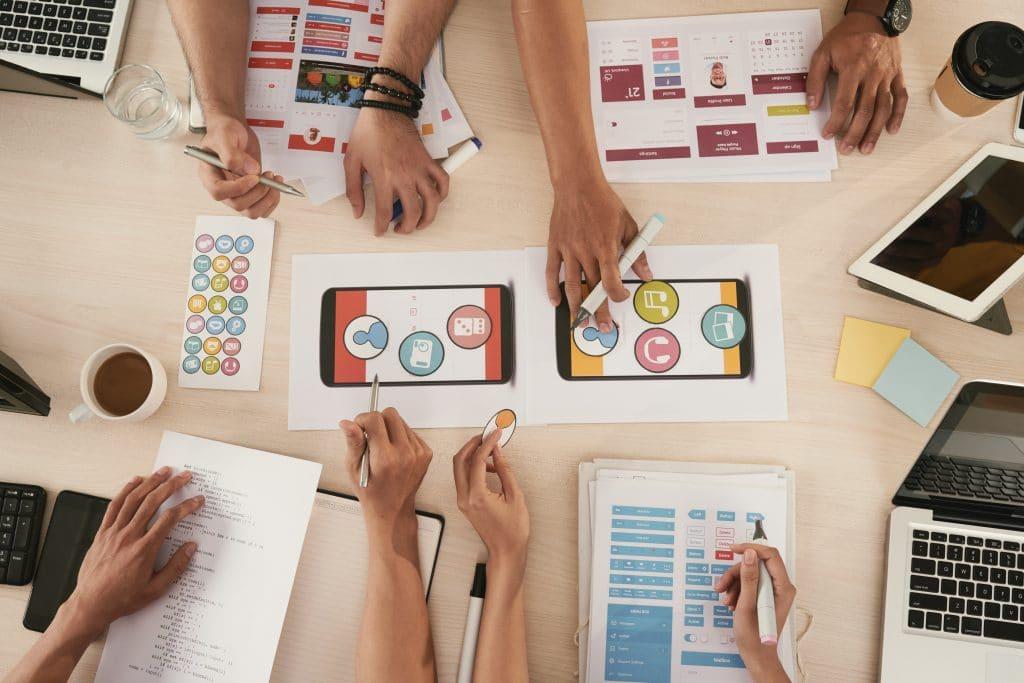 Concevoir l'interface graphique - mobile application IOS