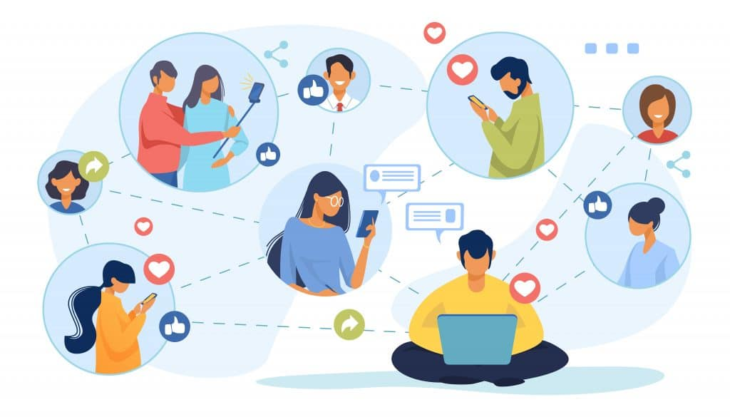 Penser aux réseaux sociaux