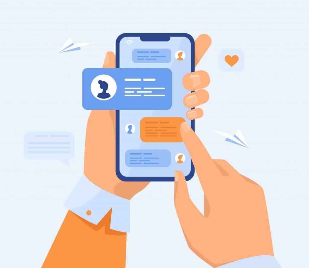 Utiliser la messagerie intégrée à bon escient