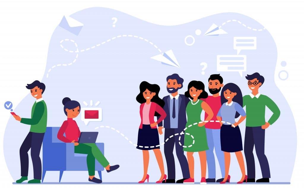 Donner l'occasion de s'engager avec votre entreprise