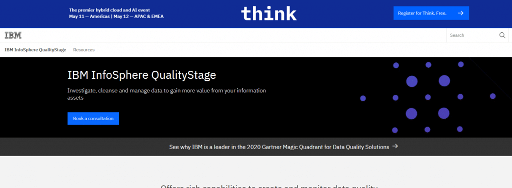 IBM Infosphere Quality Stage