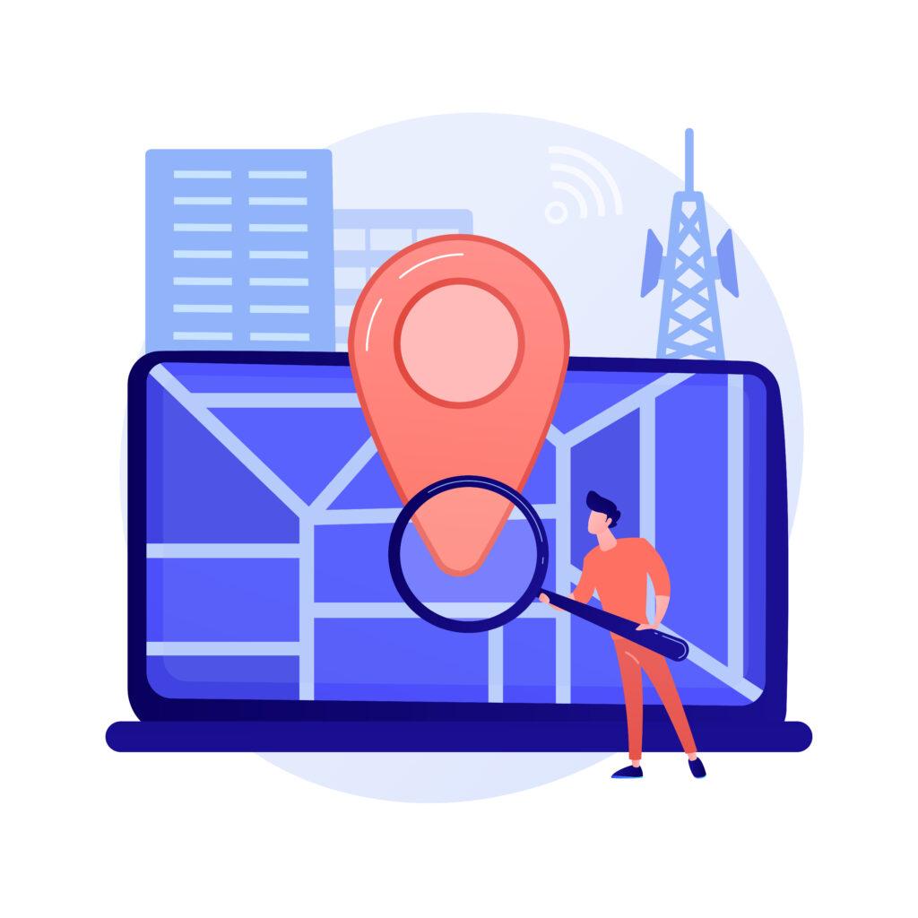 Géolocalisation automatique et/ou sélecteur d'emplacement