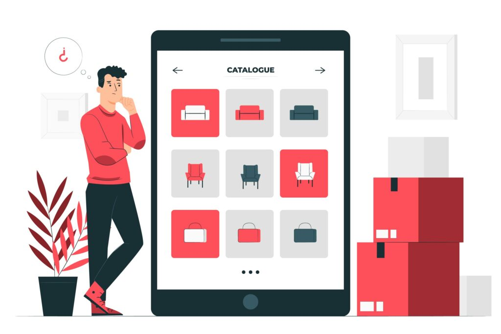 Concevoir votre catalogue de produits