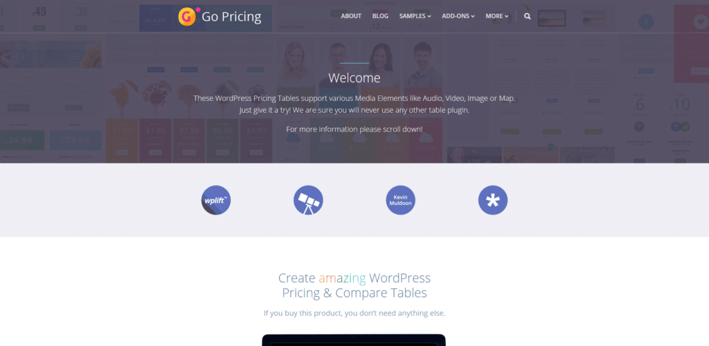 Go Pricing