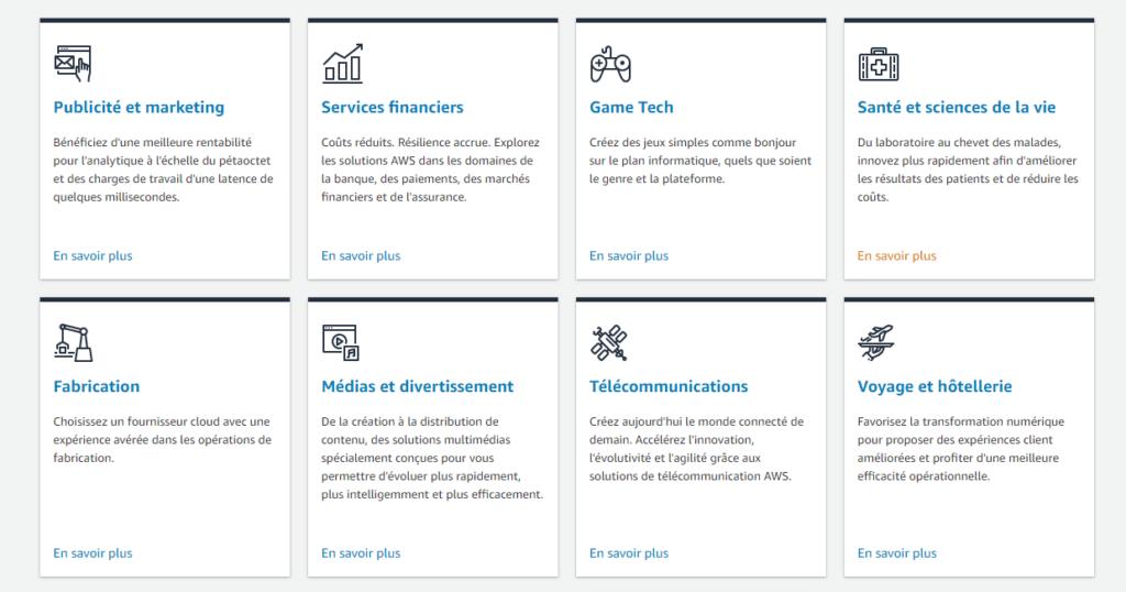 Les services de base d'AWS