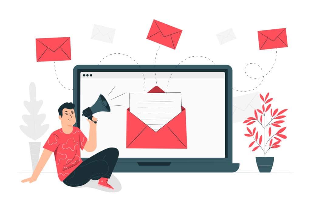 Vous utilisez un domaine gratuit pour vos campagnes emailing