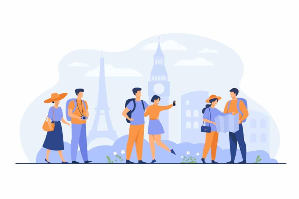 Une application d'aide aux touristes