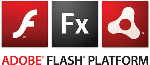 logo Adobe : Flash, Flex, Air