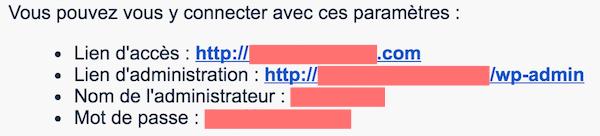 Installateur WordPress
