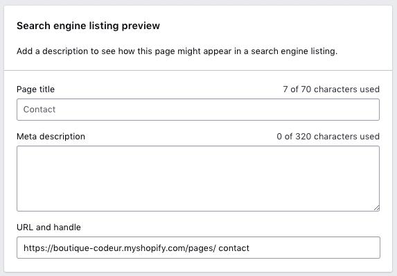 Comment optimiser Shopify pour le référencement — Tutoriels