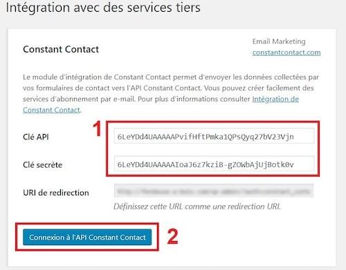 Intégrer un reCAPTCHA dans le formulaire de contact 7